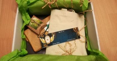 Lesekatzen Buchbox (Unpacking)