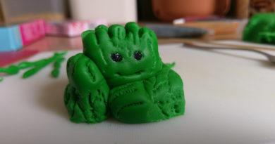 Ein Geek backt eine Guardians of the Galaxy-Donauwelle