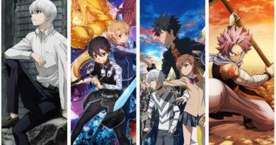 Lineup der Anime Fall Season 2018