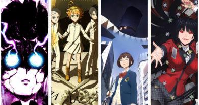Lineup der Anime Winter Season 2019