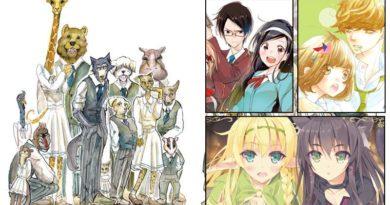 Lineup des Winterprogramms 2019/20 von Kazé Manga