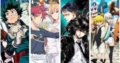 Lineup der Anime Fall Season 2019