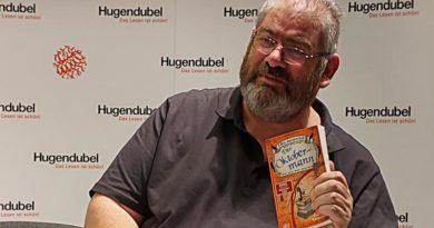 Von Wein, Verfilmungen und Terry Pratchett ‒ Ben Aaronovitch stellt sein neues Buch vor