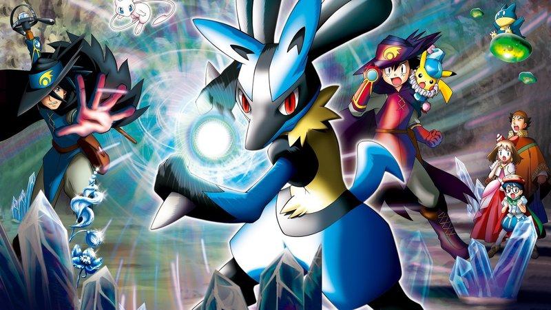 Pokémon 8 Lucario Und Das Geheimnis Von Mew