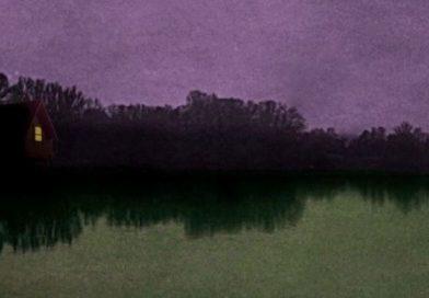 Das einsame Haus am grünen See