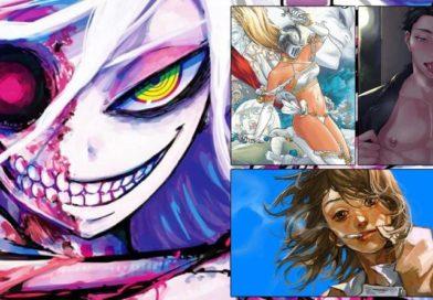 Programmübersicht des Sommerprogramms 2021 von Egmont Manga