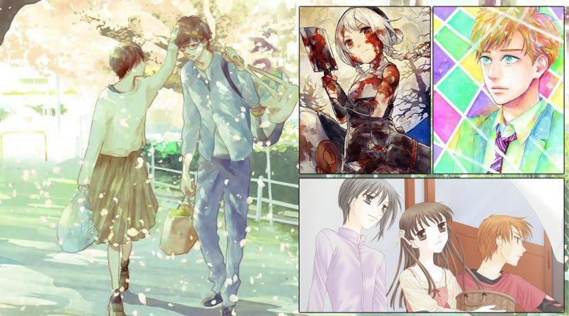 Programmübersicht des Sommerprogramms 2021 von Carlsen Manga