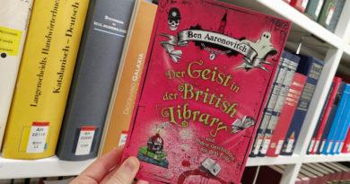 Peter Grant: Der Geist in der British Library