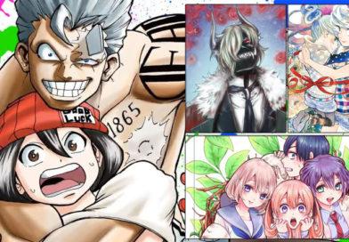 Carlsen Manga-Programmübersicht Oktober 2021 ‒ März 2022