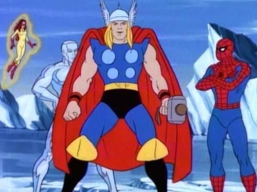 Auch Thor gibt sich (mit Loki im Schlepptau) die Ehre